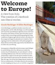"Detail from ""Welcome to Europe!"", by Carole Reckinger & Gilles Reckinger, Issue 1 - click to enlarge"