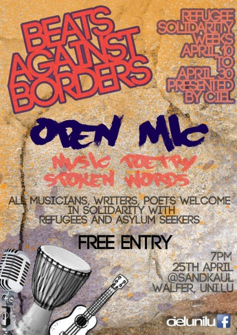BEATS AGAINST BORDERS - Open mike